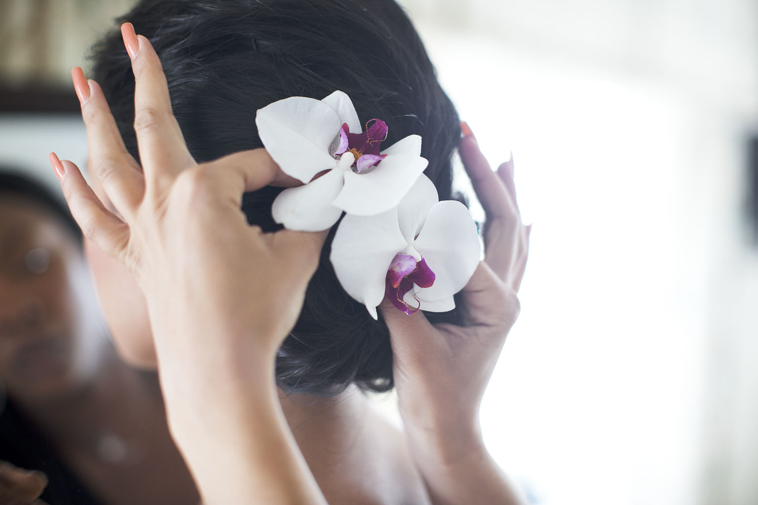 ~Orchids in her hair~