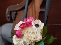 close-up aisle flowers