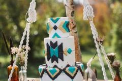 amazing boho cake