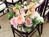More aisle flowers