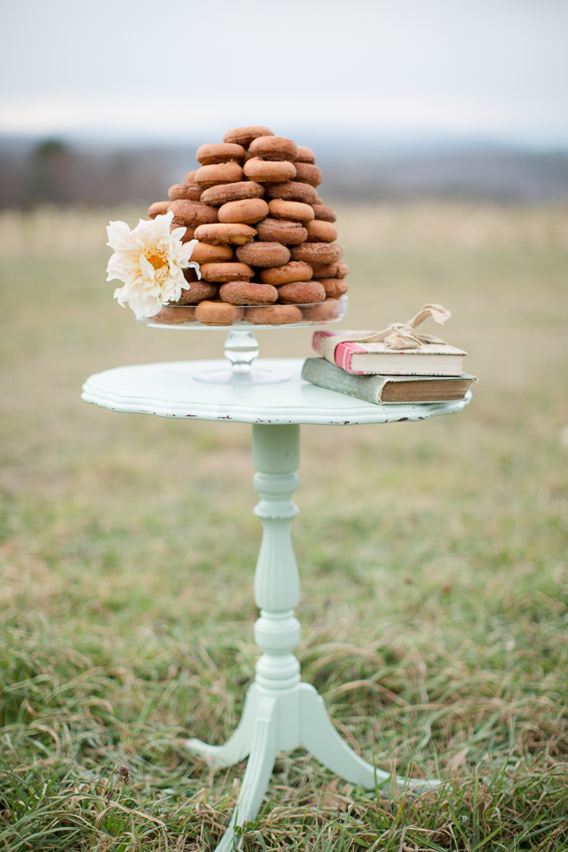 cider donut cake!